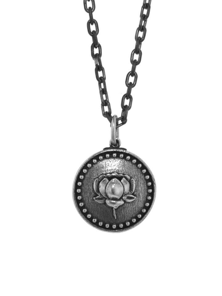 Erica Molinari Double Lotus Charm - Sterling Silver