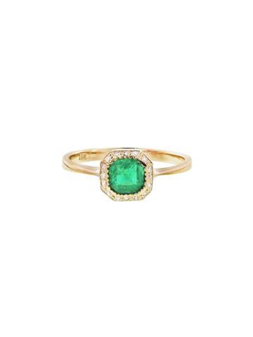 Lori Mclean Vintage Emerald Ring - Gold