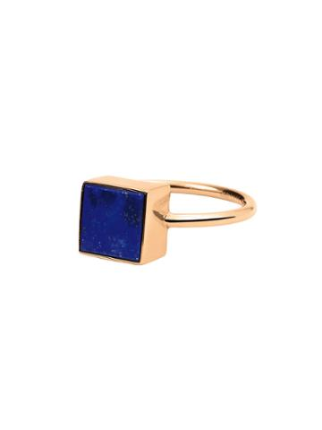 Ginette Ny Ever Lapis Square Ring
