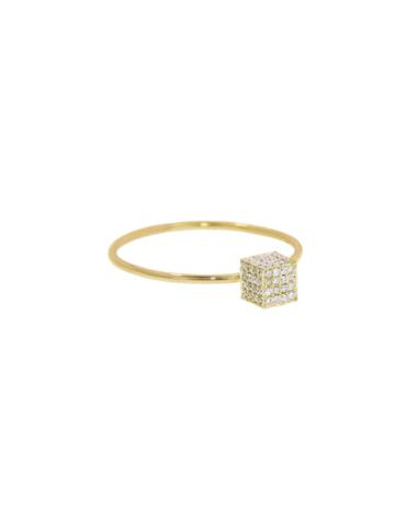 Jennifer Meyer Diamond Cube Ring