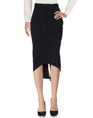 Aganovich Knee Length Skirts