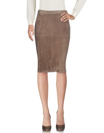 Enes Knee Length Skirts