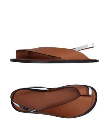 Paco Rabanne Toe Strap Sandals