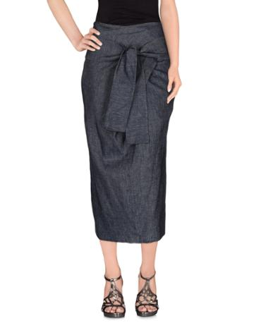 Erika Cavallini Denim Skirts