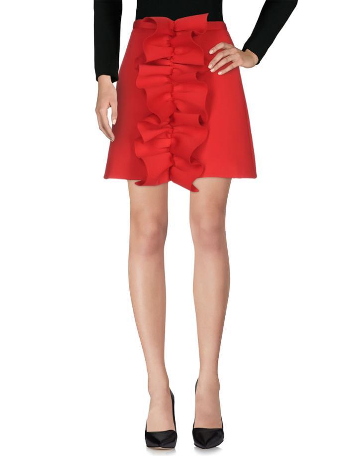 Nicopanda Knee Length Skirts