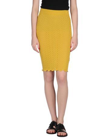 Knitz Knee Length Skirts