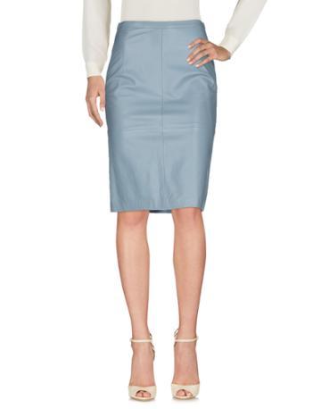 Mabrun Knee Length Skirts