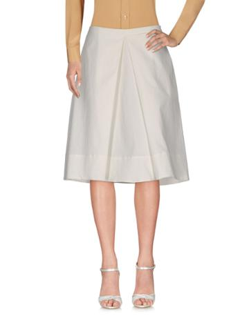Jupe De Satin Long Skirts