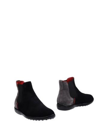 Tod's For Ferrari Ankle Boots