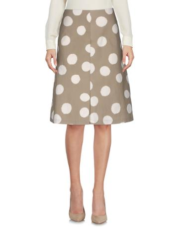 Yoshi Kondo Knee Length Skirts