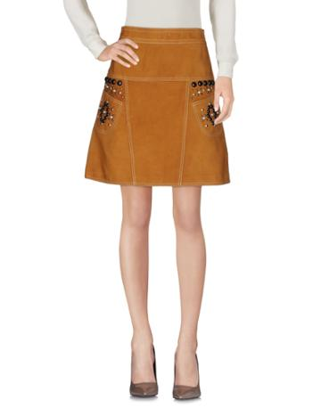 Coach Knee Length Skirts
