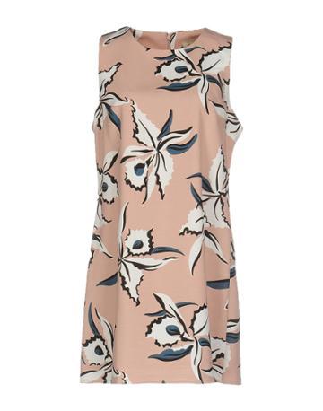 Anna F. Short Dresses