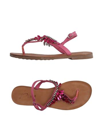 Pixy Toe Strap Sandals
