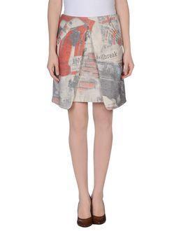 Ultra'chic Knee Length Skirts