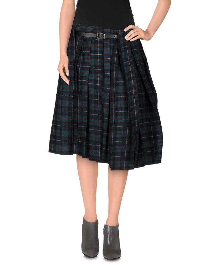 Rundholz Knee Length Skirts