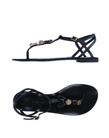 Giuseppe Zanotti Pour Vionnet Toe Strap Sandals