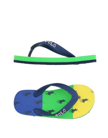 Ralph Lauren Toe Strap Sandals