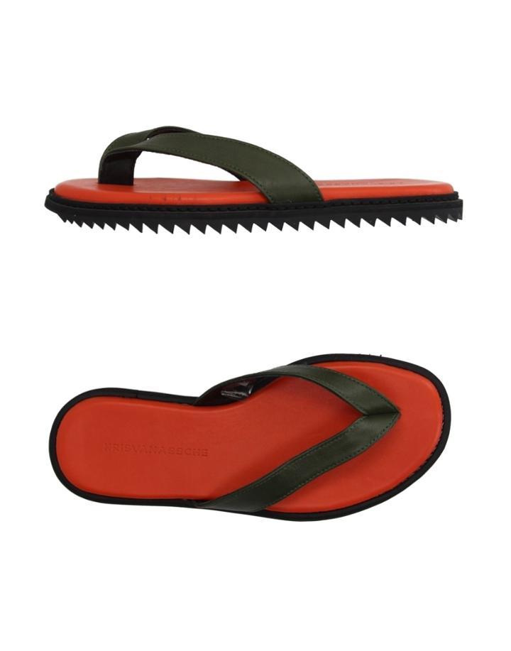 Krisvanassche Toe Strap Sandals