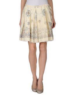 Momo  Knee Length Skirts