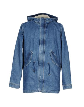 Topman Denim Outerwear