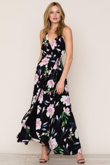 Yumikim Rush Hour Silk Maxi Dress