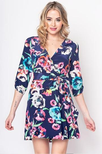 Yumikim Girl Next Door Silk Dress