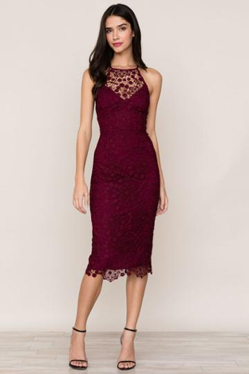 Yumikim She's Mine Lace Dress