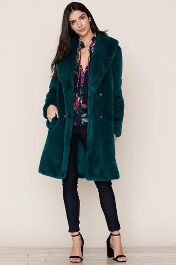 Yumikim Aspen Faux Fur Coat