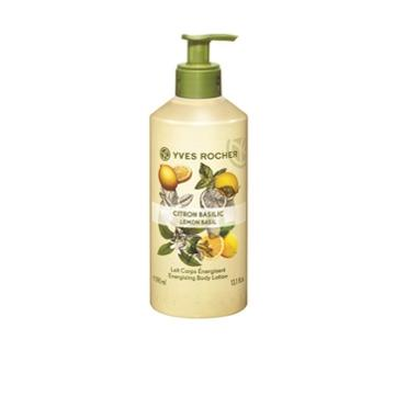 Yves Rocher Energizing Body Lotion - Lemon Basil
