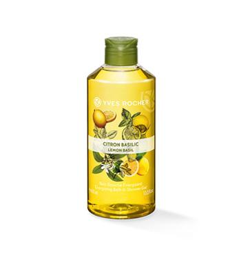 Yves Rocher Energizing Bath & Shower Gel - Lemon Basil