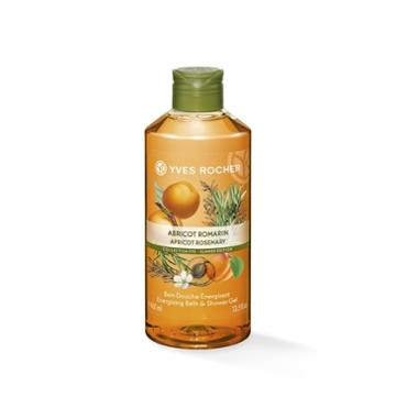 Yves Rocher Energizing Bath & Shower Gel - Apricot Rosemary