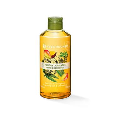 Yves Rocher Energizing Bath & Shower Gel - Mango Coriander