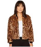 Splendid - Leopard Faux Fur Jacket