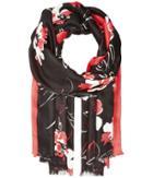 Calvin Klein - Ombre Floral Printed Pashmina