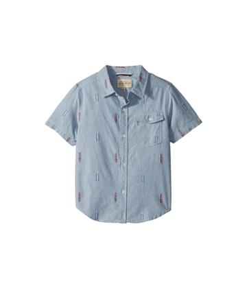 Lucky Brand Kids - Short Sleeve Chambray Shirt