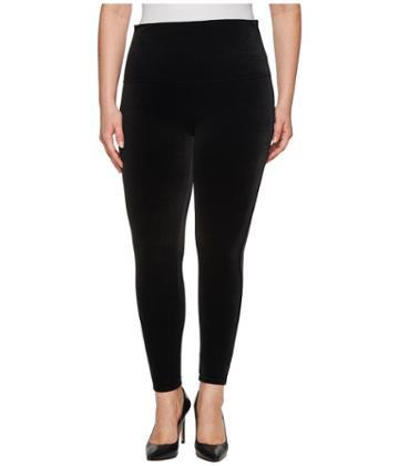 Spanx - Plus Size Velvet Leggings