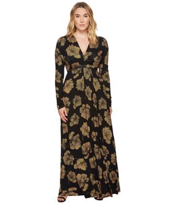 Rachel Pally - Plus Size Long Sleeve Full Length Caftan