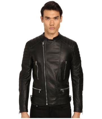 Philipp Plein - Leather Motor Jacket