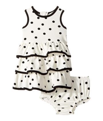 Kate Spade New York Kids - Tiered Ruffle Dress Set
