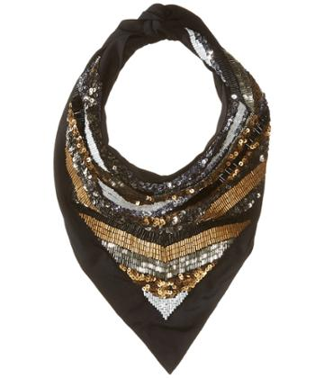 The Kooples - Scarf With Sequins And Pearls