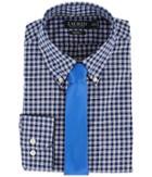 Lauren Ralph Lauren - Classic Fit Non Iron Poplin Plaid Button Down Collar Dress Shirt