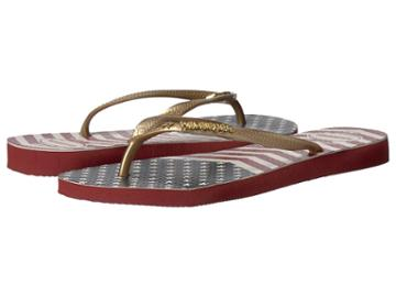 Havaianas - Slim Chevron Stars And Stripes Sandal