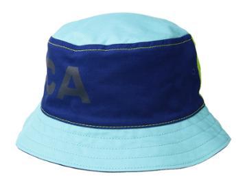 Nautica - Reversible Large Logo Print Bucket Hat