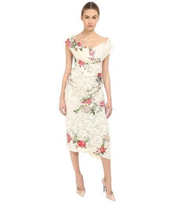 Vivienne Westwood - Lotus Flower Lace Cocotte Red Carpet Dress