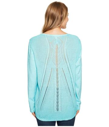 Tribal - Sweater Back Top
