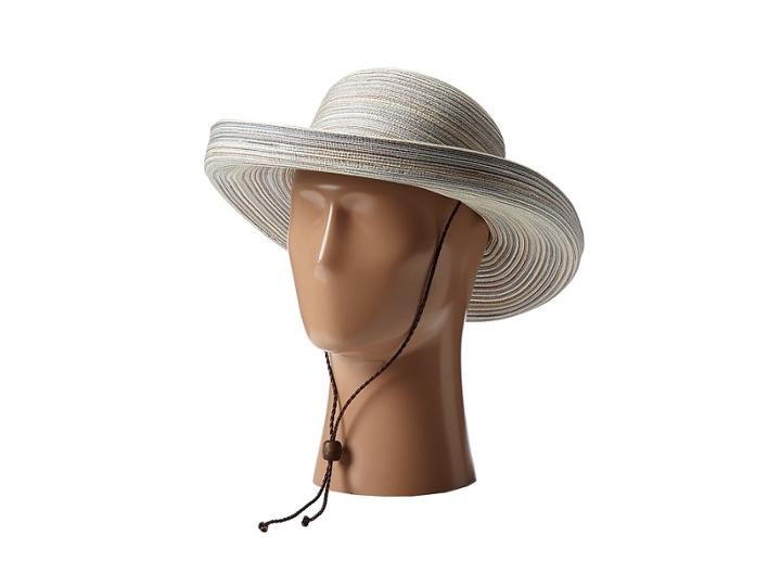 San Diego Hat Company - Mxm1014 Mixed Braid Kettle Brim Hat