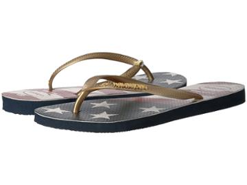Havaianas - Slim Wavy Usa Flag Sandal