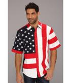 Scully - Patriot S/s Shirt