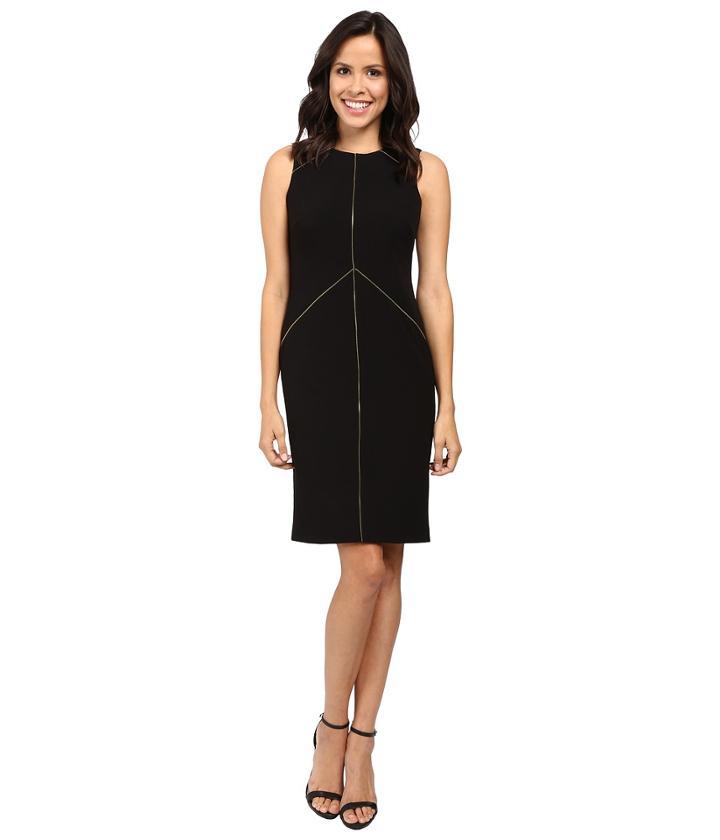 Calvin Klein - Sheath Dress With Zipper Detail Cd6x1263