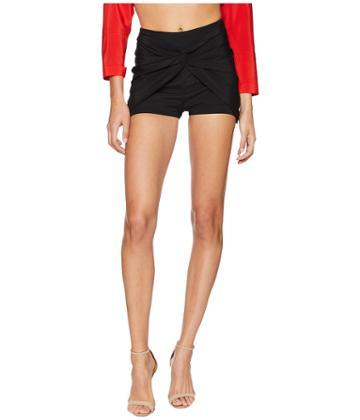 La Perla - Ruffled Jade Shorts